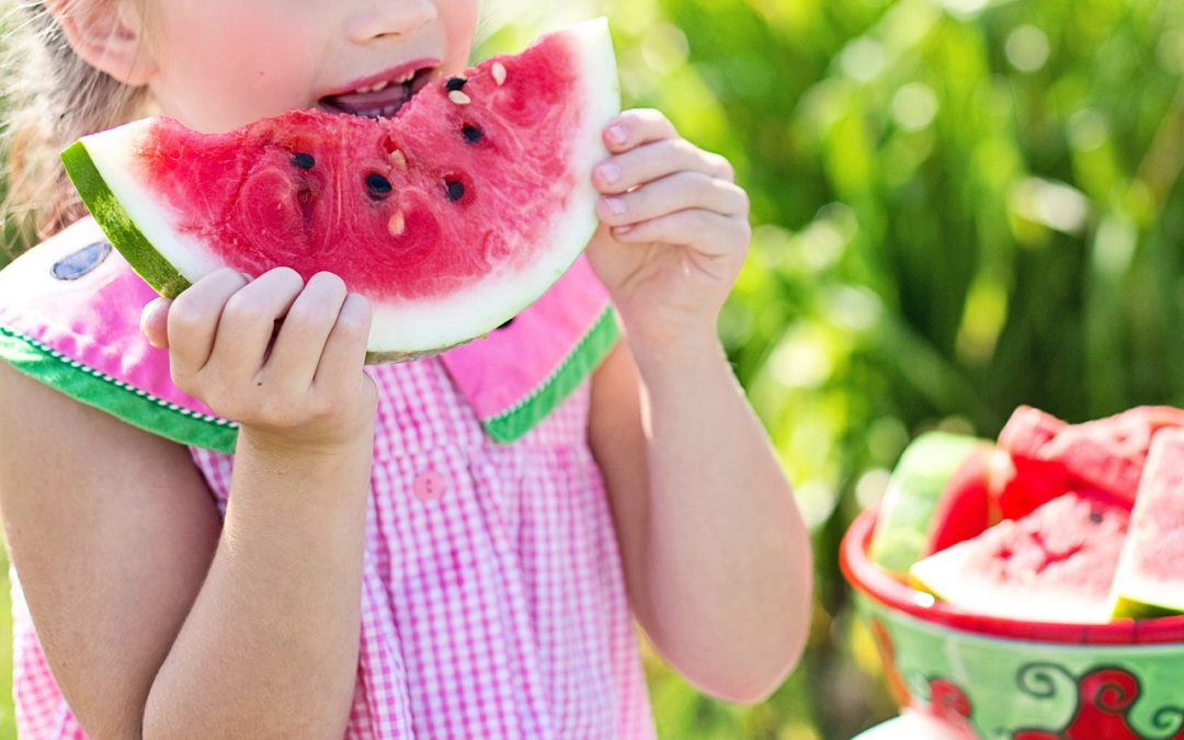 Aliments sains, dents saines