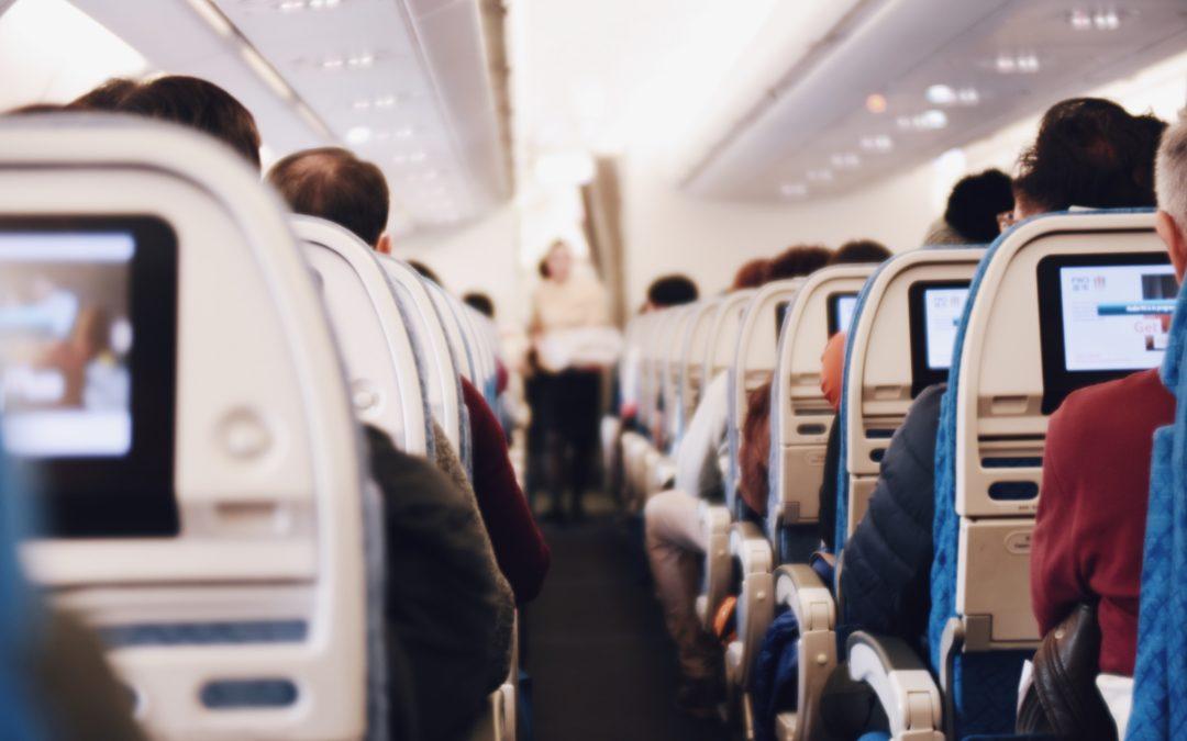 Douleurs dentaires en avion
