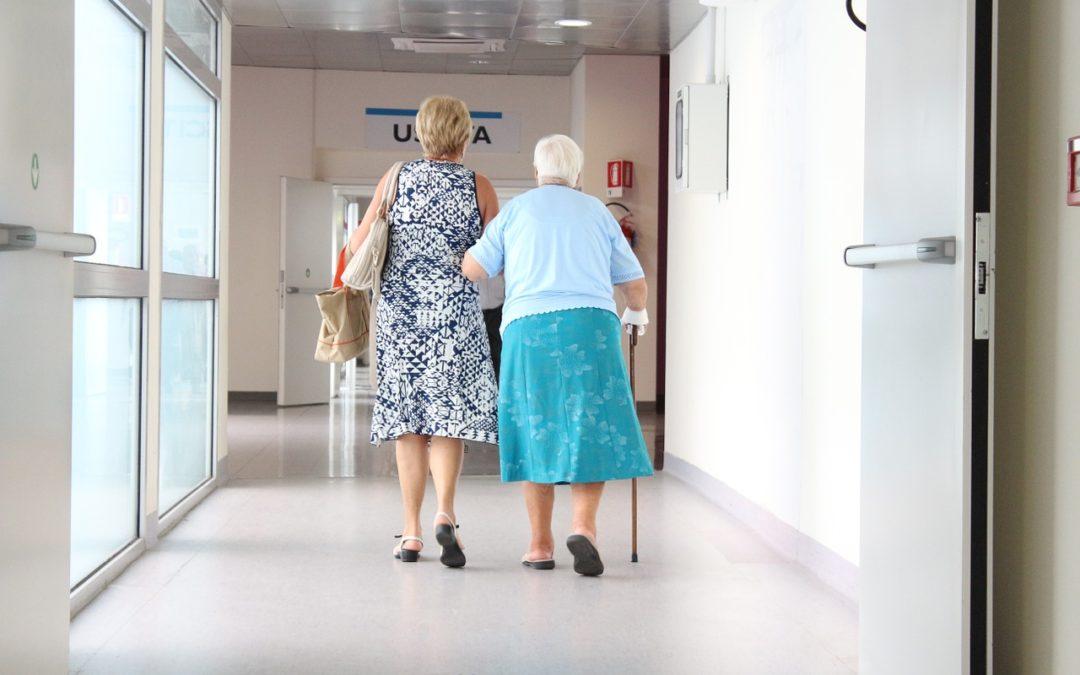 Soins dentaires pour les personnes âgées dépendantes
