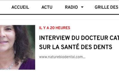 PODCAST : Retrouvez l'interview du docteur Catherine Rossi sur la Santé des Dents en ligne sur radio Noy'On Air !